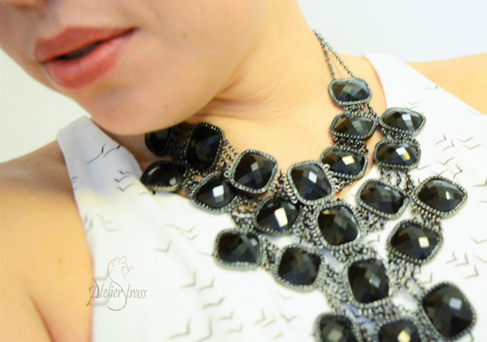 maxi collar negro