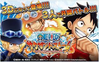 Game Anime One Piece Thousand Storm Apk Mod | aqilsoft