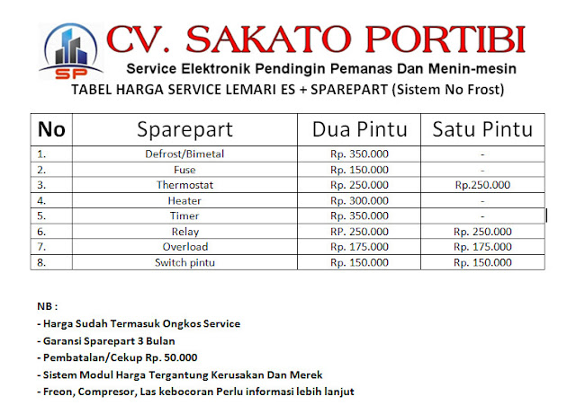 Service Kulkas Bintaro Jaya