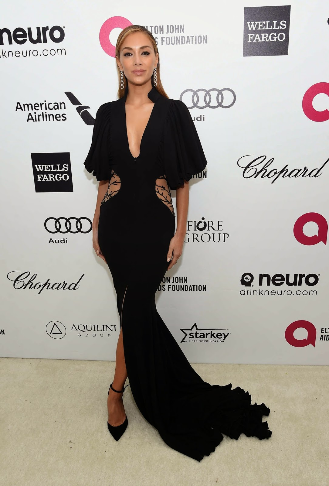 Nicole Scherzinger – 23rd Annual Elton John AIDS Foundation Academy Awards Viewing Party in LA
