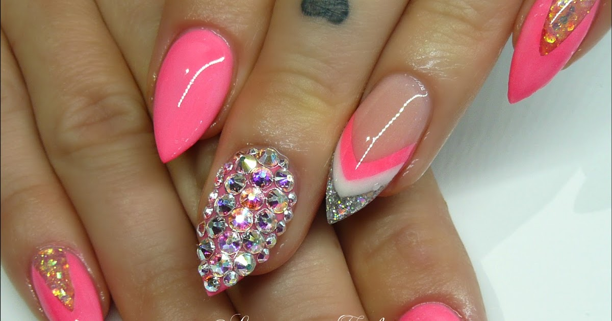 Neon Fake Nails – ledufa.com
