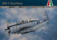Italeri SBD-5 Dauntless 1/48