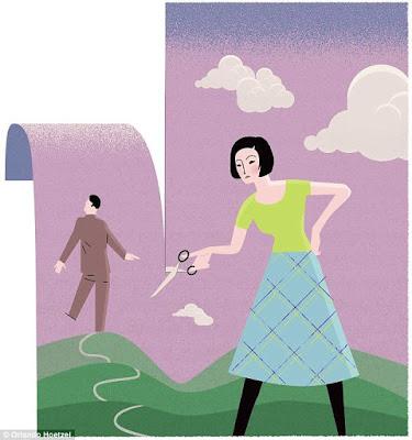 istri berbisnis oriflame suami ditinggalkan