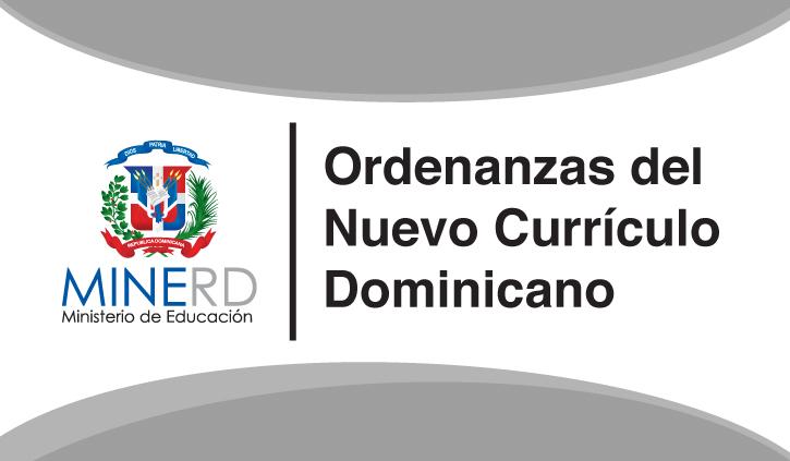 Ordenanzas del nuevo dise o curricular centro educativo for Nuevo curriculo de educacion inicial