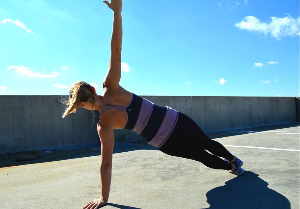 lululemon mauvelous stripe power y