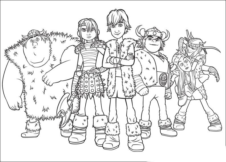 how to train your dragon 3 coloring pages printable