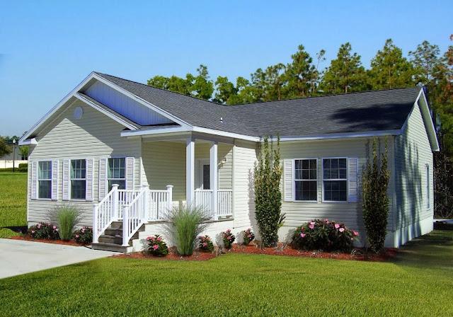 Model Rumah Sederhana Tapi Kelihatan Mewah Warna Putih