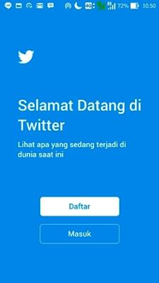 twitter 5 cara membuat akun twitter di hp android