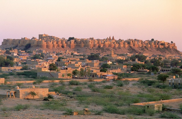 The magnificent Jaisalmer Fort in Rajasthan