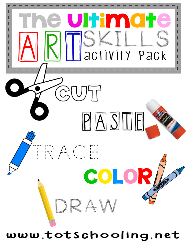 The Ultimate Art Skills Activity Pack