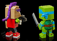 San Diego Comic-Con 2016 Mattel Exclusive KUBROS TEENAGE MUTANT NINJA TURTLES – LEONARDO VS. BEBOP SPECIAL EDITION SET