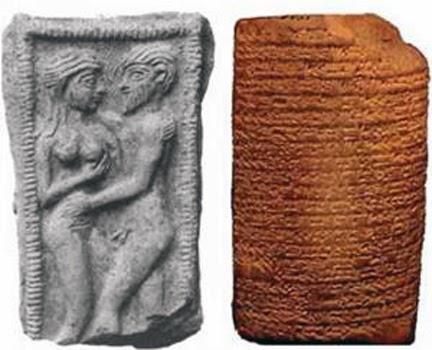 Resultado de imagen para escenas de amor en los sumerios