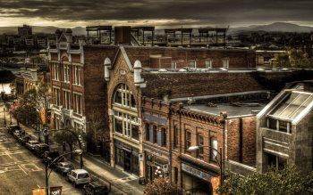 Wallpaper: Urban landscape in Victoria