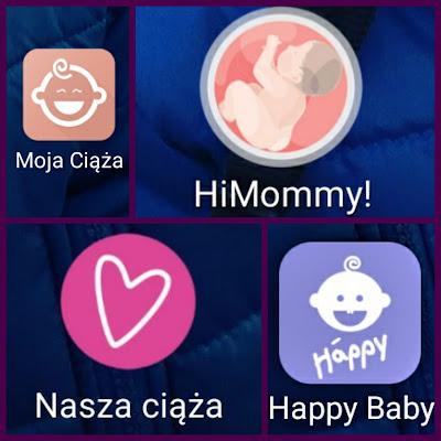 Moje ulubione aplikacje ciążowe.