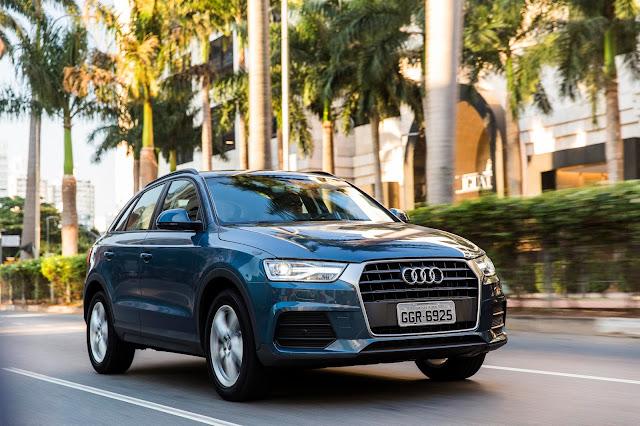Audi Q3 lidera o segmento de veículos premium no Brasil - março