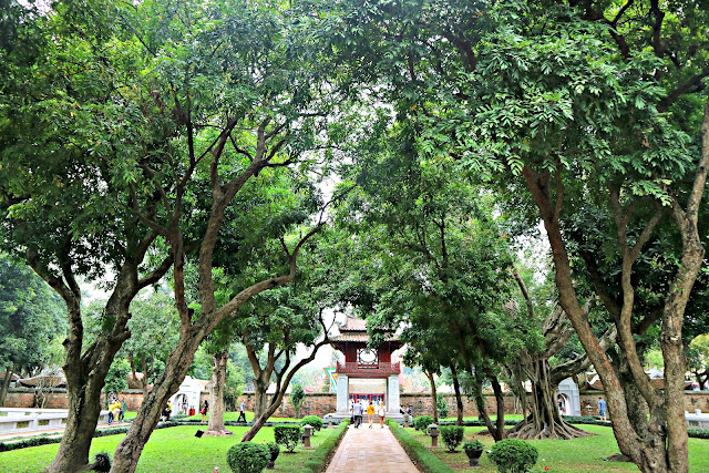 Temple of Literature Hanoi Vietnam