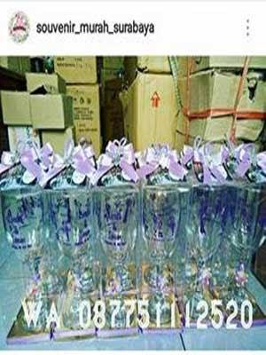 Gelas Souvenir Pernikahan Surabaya