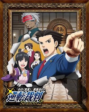 تقرير انمي Gyakuten Saiban s2 (الموسم الثاني)