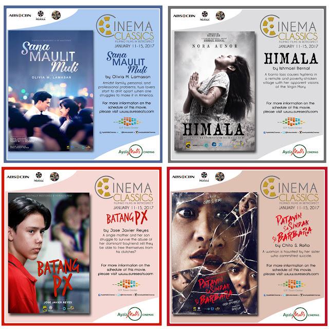 Filipino Cinema Classic Films | Sana Maulit Muli | Himala | Batang PX | Patayin Sa Sindak Si Barbara