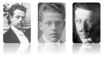 Franz Rosenzweig in  three different periods of his short life