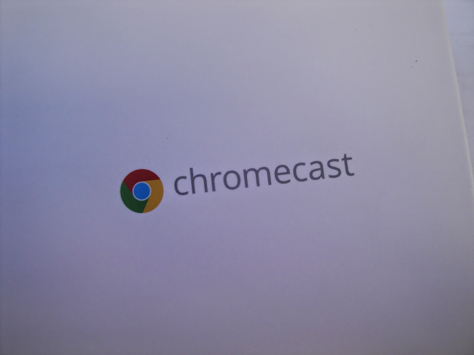 Caixa do chromecast®