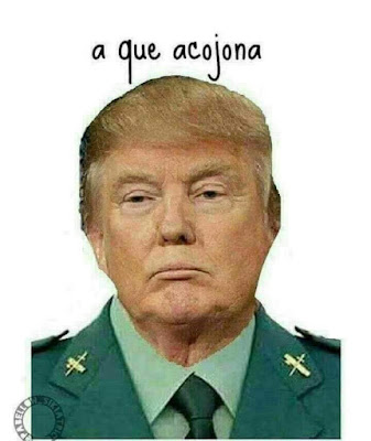 Donald Trump, benemérita, Guardia Civil