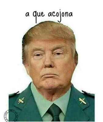 Donald Trump, benemérita, Guardia Civil