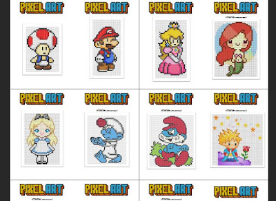 Les Meilleurs Fiches De Dessin 28 Pixel Art Imprimable