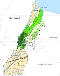 Peta Kecamatan Brangsong
