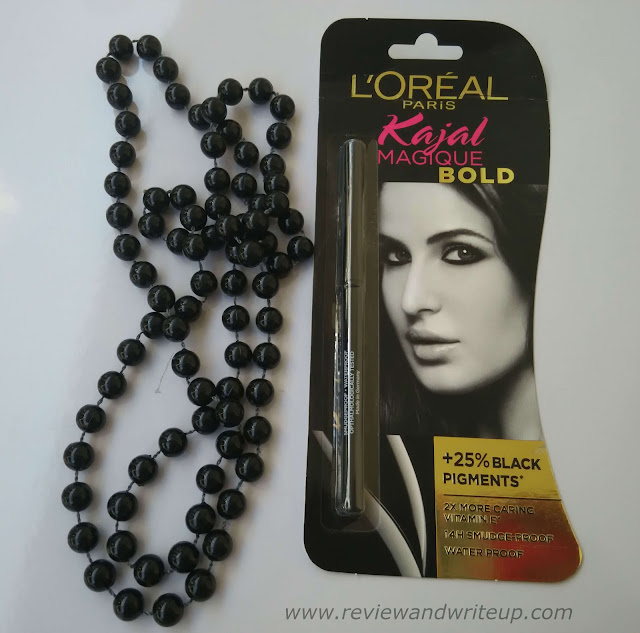 Loreal Paris Kajal Magique Bold Review