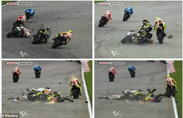 Marco Simoncelli crash - MotoGP Malaysia | Car Under 500 Dollars