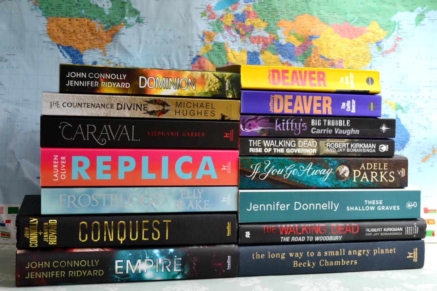 Books I Took to Northumberland