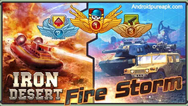 Iron Desert - Fire Storm Apk Download Mod