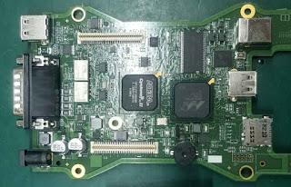 VCMII clone SP177-2 PCB 1