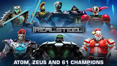 Download Game Android Gratis Real Steel HD apk + obb