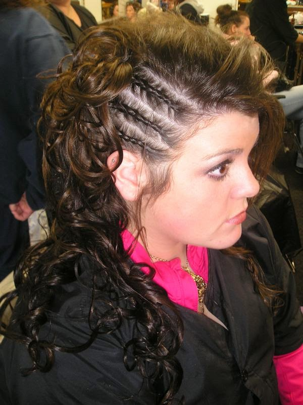 Tremendous Braided Mohawk Hairstyles For Girls Hairstyle Inspiration Daily Dogsangcom