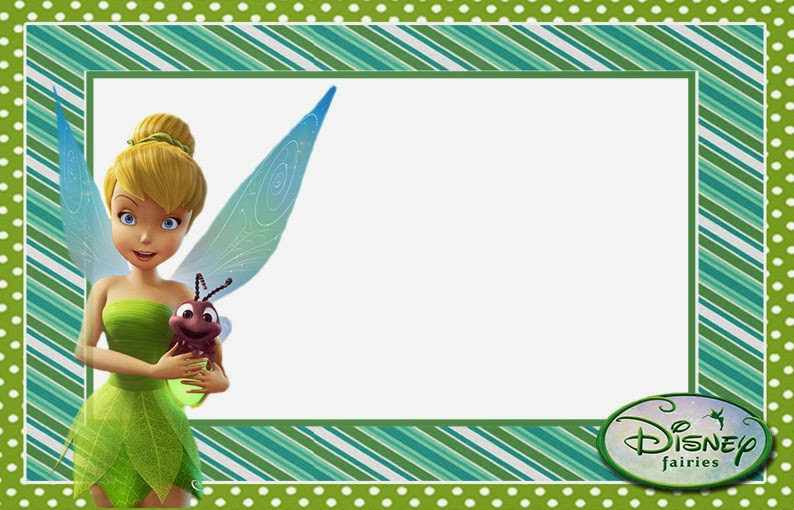 Free Printable Tinker Bell Invitations. | Oh My Fiesta! in english