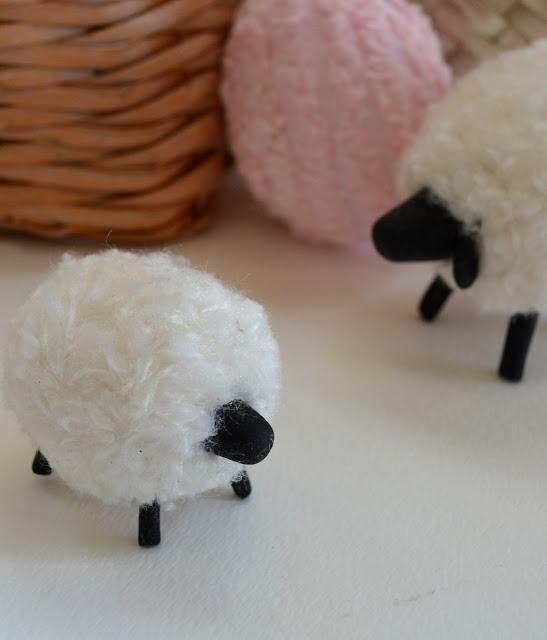 Easter Craft How To Make A Pompom Sheep Healthy Recipe