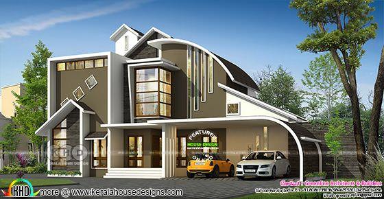 Unique ultra modern 3471 sq-ft home