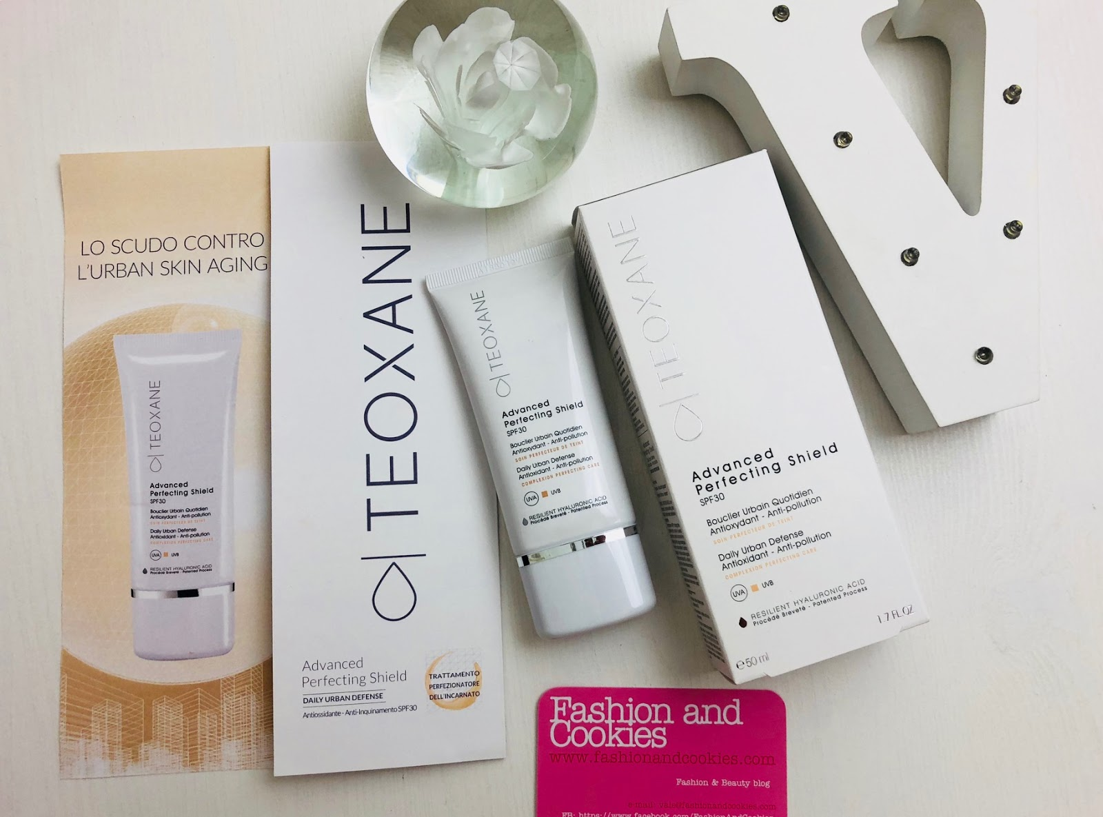 Teoxane Advanced Perfect Shield scudo contro l'urban skin aging su Fashion and Cookies beauty blog, beauty blogger