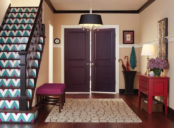 best entryway wall paint colors. Black Bedroom Furniture Sets. Home Design Ideas