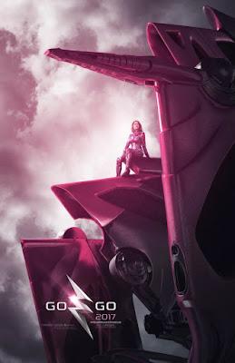 POWER RANGERS Zord Teaser Poster, Pink Ranger