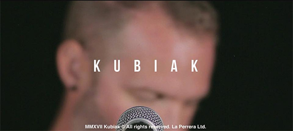 "Kubiak release video for ""Temps"""