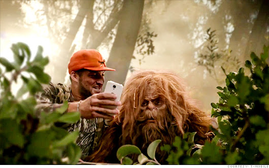 Bigfoot attacks person taking selfie?