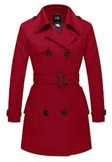 ZSHOW Cappotto Doppiopetto con Cintura Trench Coat Donna