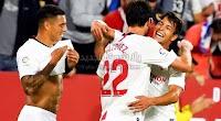 تعادل جديد لفريق اتليتكو مدريد امام اشبيلية بهدف لمثله في الجولة الثانيه عشر من الدوري الاسباني