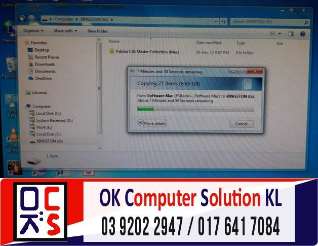 [SOLVED] MASALAH OPERATING SYSTEM (OS) iMAC | REPAIR LAPTOP CHERAS 4