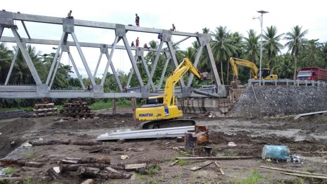 Lewat waktu Adendum, Proyek Jembatan Binalang 2018 Masuk Tahap Denda