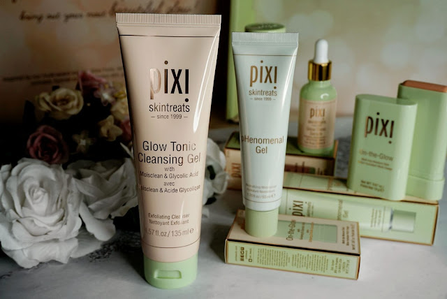 GLOW TONIC CLEANING GEL AND PHENOMENAL GEL PIXI BEAUTY GLOW COLLECTION