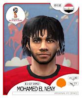 PES 6 Faces Mohamed Elneny by BR92